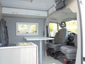 Peugeot Boxer Vista Interior