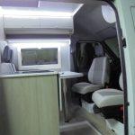 Mercedes Sprinter Interior porta aberta