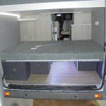 Mercedes Sprinter traseira porta aberta superior