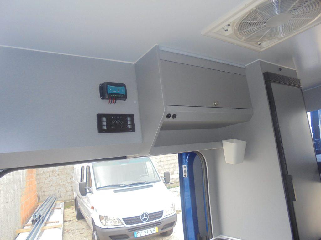 Peugeot Boxer L1 H2 Interior Controlos