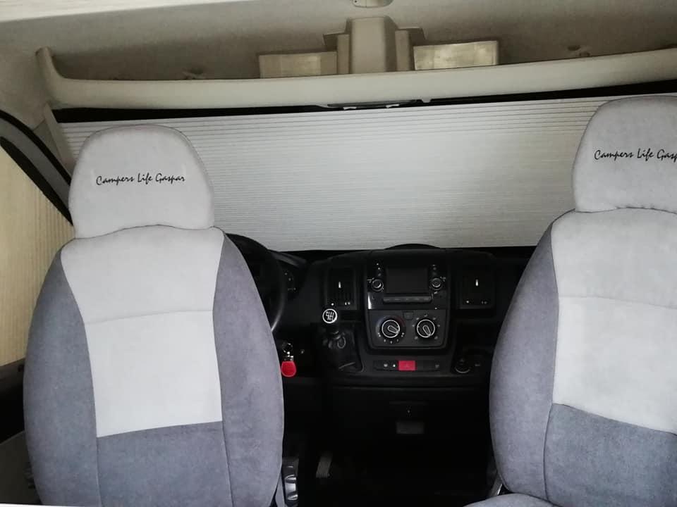 Citroen jumper Cadeiras Cockpit Interior