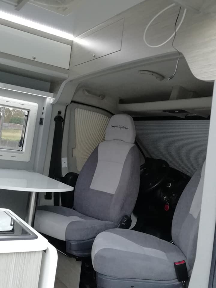 Citroen jumper Cadeiras Cockpit