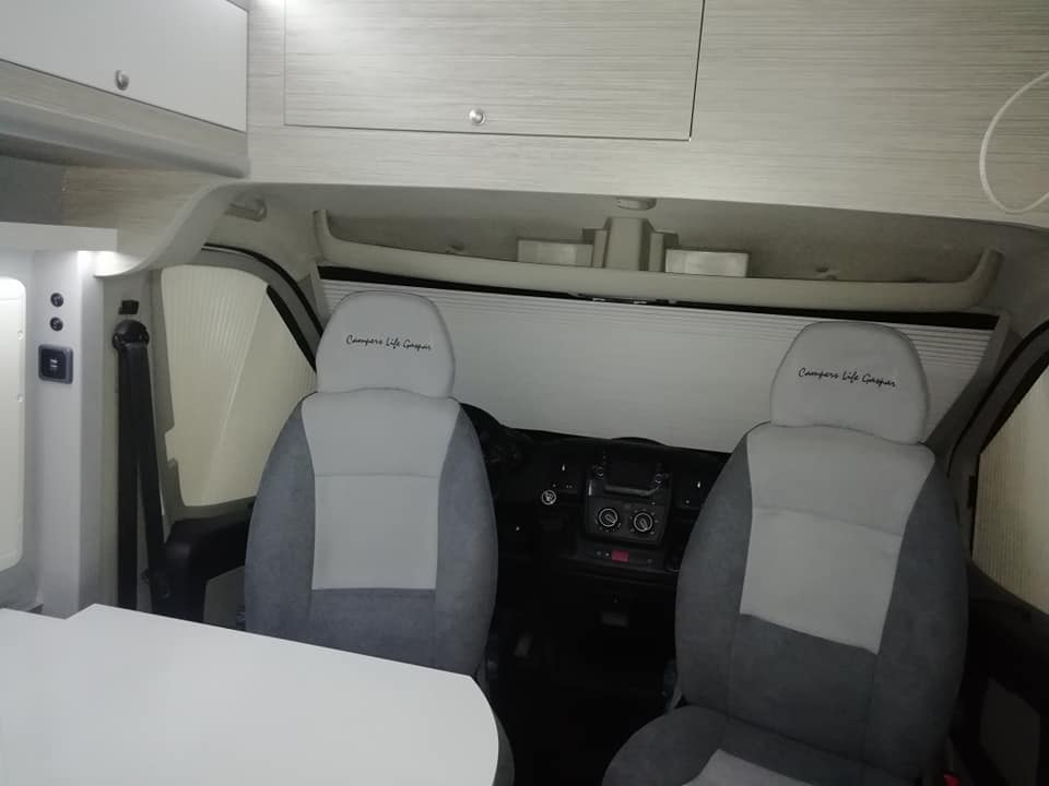 Citroen jumper Cadeiras e Cockpit