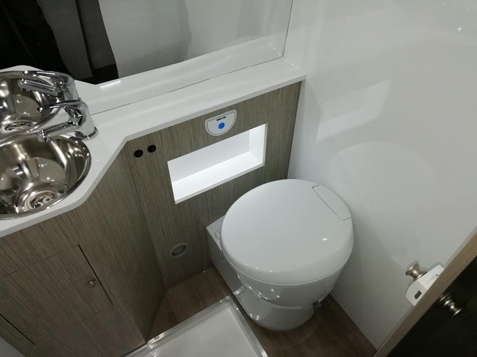Citroen jumper WC sanitario e Lavatorio
