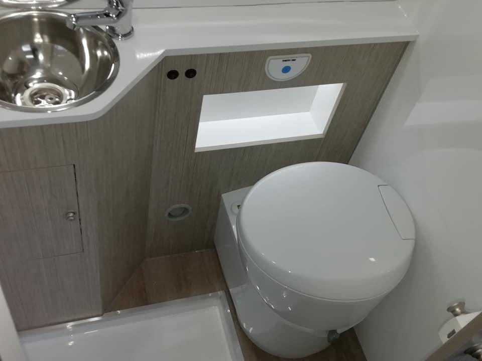 Citroen jumper WC sanitario