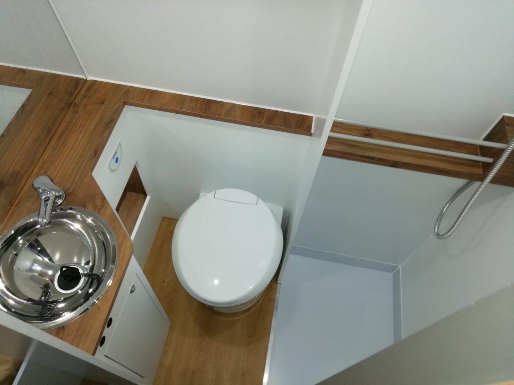 Fiat Ducato 3-2020 WC sanitario lavatorio chuveiro