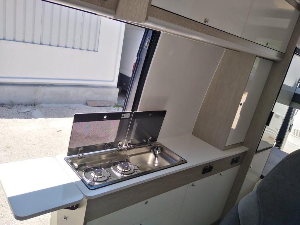 Citroen Jumper L4H3_ Cozinha bancada completa