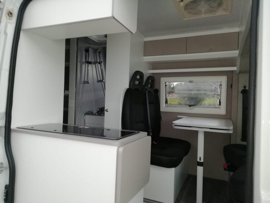Peugeot Boxer 11-2020 Vista interior