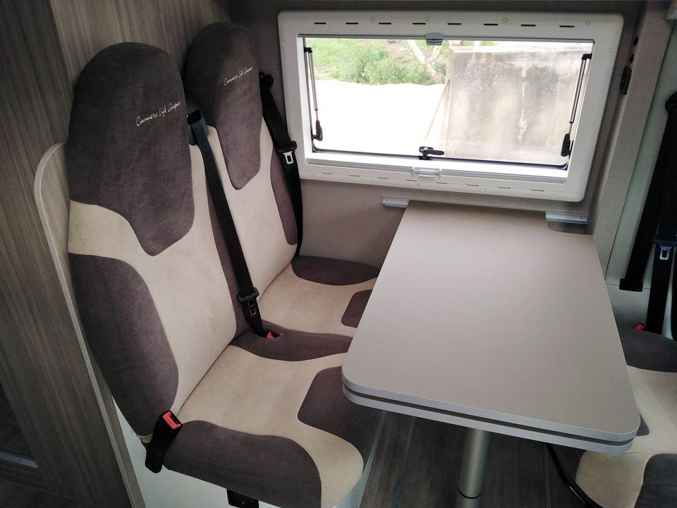 Ducato L4 H2 Mesa de refeição e cadeiras