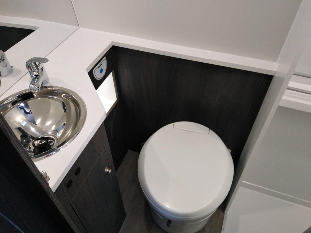 VW Crafter wc sanitários